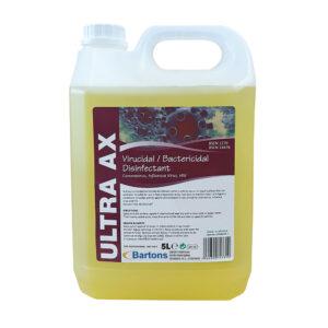 Ultra AX Virucidal / Bactericidal Disinfectant 5L